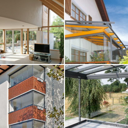 Foto oben links Architekt Dahl der Rest Solarlux
